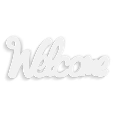 Dekobuchstaben 3D-Anhänger -Welcome-