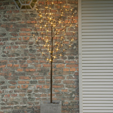 Erdspiessleuchte Tobby Tree, 1100x400 mm, inkl. LED
