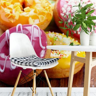 Fototapete Zuckersüsse Donuts