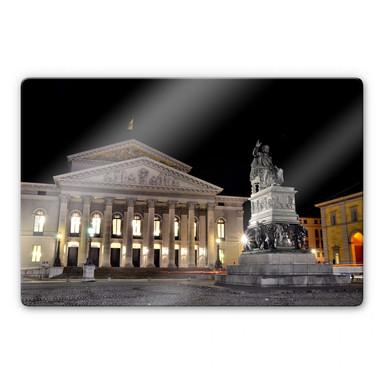 Glasbild Bayerische Staatsoper München