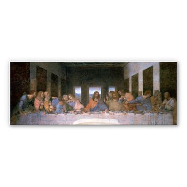 Hartschaumbild Da Vinci - Das letzte Abendmahl - Panorama