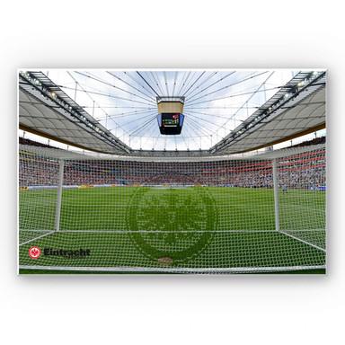 Hartschaumbild Eintracht Frankfurt Arena Tornetz