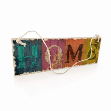 Holzschild Vintage Home