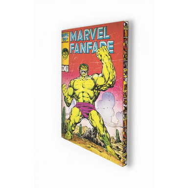 Leinwandbild Marvel Comics - Hulk - Bild 1
