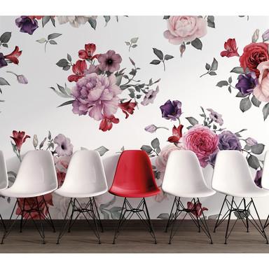 Livingwalls Fototapete Designwalls Flower Bouquet Blumen