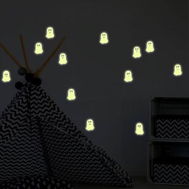 Leuchtsticker Niedliche Geister
