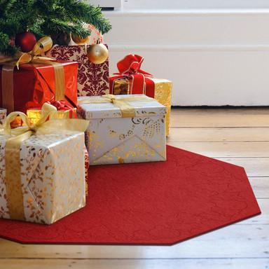 Weihnachtsbaumdecke - Achteck