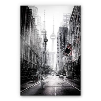 Acrylglasbild Chiriaco - Strassen in Toronto