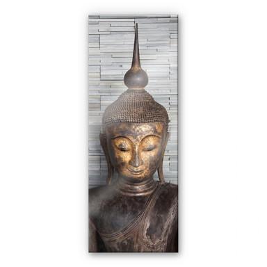 Acrylglasbild Thailand Buddha - Panorama 02