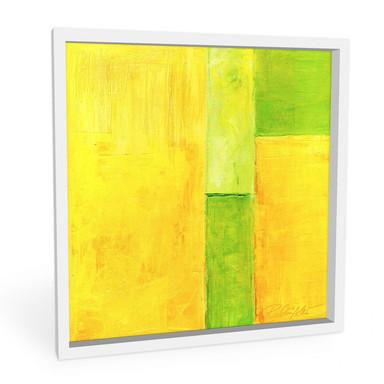 Hartschaumbild Schüssler - Spring Composition III