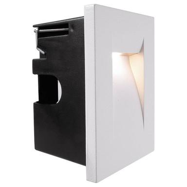 LED Wandeinbauleuchte Yvette in Weiss senktrecht 3.6W 130lm IP65
