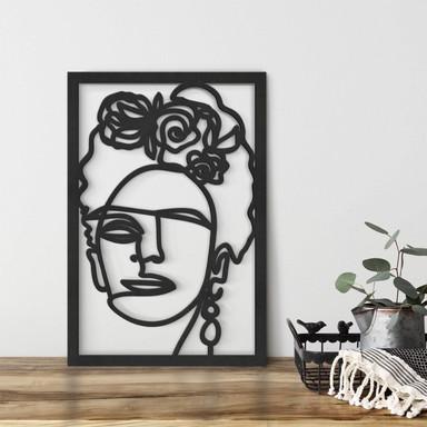 MDF - Holzdeko Hariri - Frida Kahlo