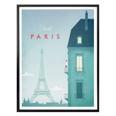 Poster Rivers - Paris