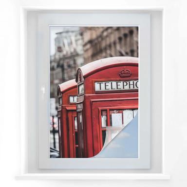 Sichtschutzfolie Britische Telefonzelle