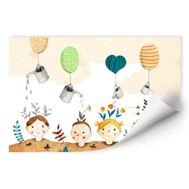 Wallprint Loske - Kindergarten