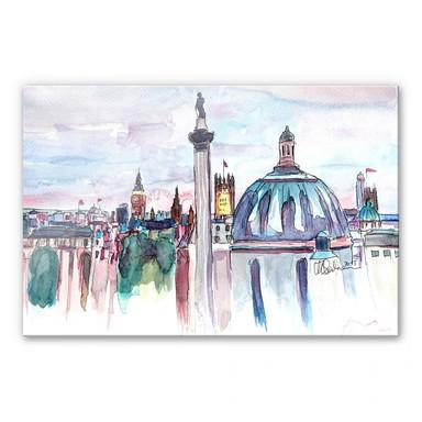 Acrylglasbild Bleichner - London Skyline