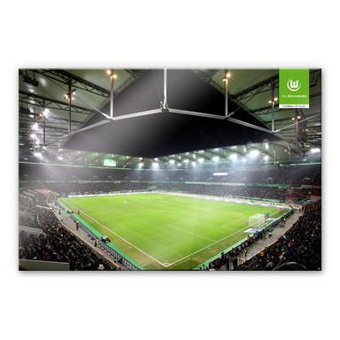 Acrylglasbild VfL Wolfsburg Volkswagen Arena