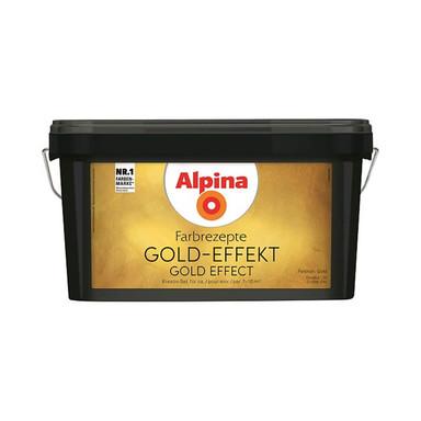 Alpina Farbrezepte GOLD-EFFEKT Set - 3 Liter - Bild 1