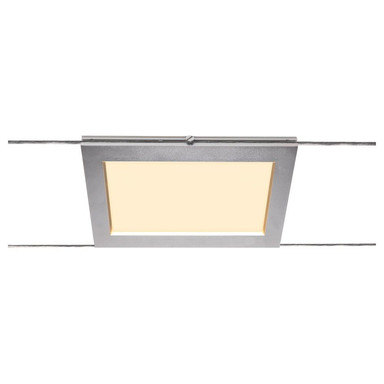 LED Seilsystemleuchte Tenseo in Chrom 9.8W 750lm