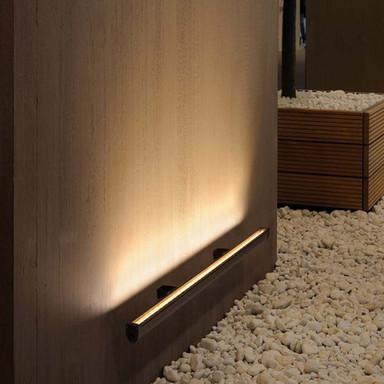 LED Wallwasher Galen in Anthrazit und Transparent 34W 3100lm IP65