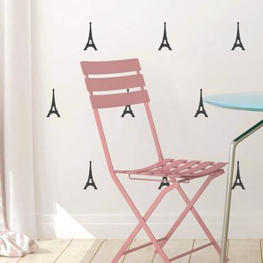 Wandtattoo Eiffelturm Set