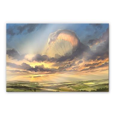 Acrylglasbild aerroscape - Wolkenflug
