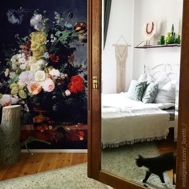 Fototapete Prevost - Stillleben mit Blumen - 192x260cm - Bild 1
