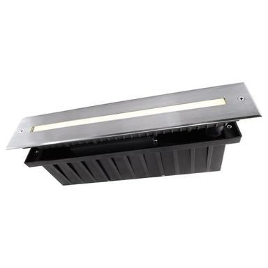 LED Bodeneinbauleuchte Slim Line in Silber 5W 328mm IP67