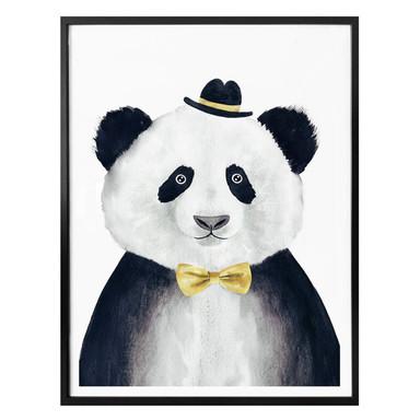 Poster Cuddly Gentleman