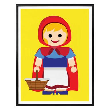 Poster Gomes - Rotkäppchen Spielzeug