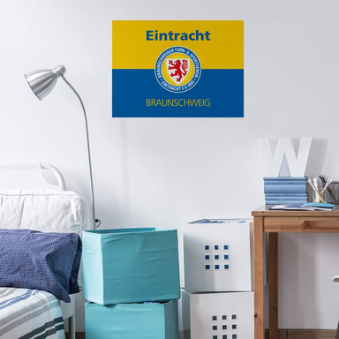 Wandsticker Eintracht Braunschweig Banner