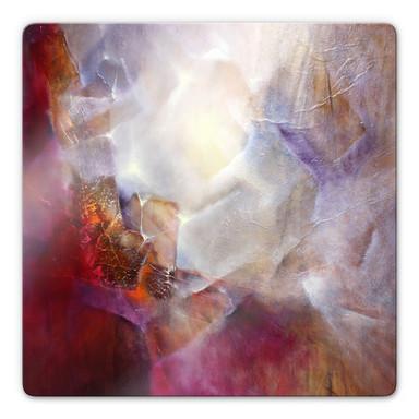 Glasbild Schmucker - Vom Inneren Leuchten
