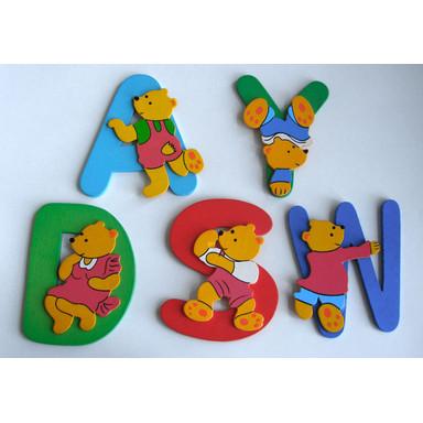 Kinderbuchstaben Bunte Bären