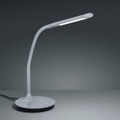 LED Schreibtischleuchte Polo in Grau 5W 550lm