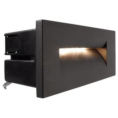 LED Wandeinbauleuchte Yvette III in Anthrazit 8.4W 219lm IP65