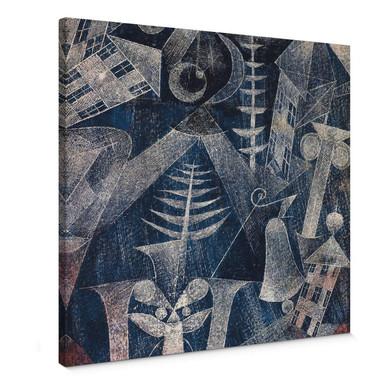 Leinwandbild Klee - Die Glocke