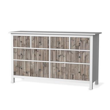 Möbelfolie IKEA Hemnes Kommode 8 Schubladen - Dark washed