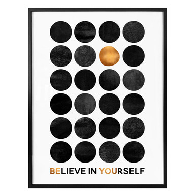 Poster Fredriksson - Believe in Yourself