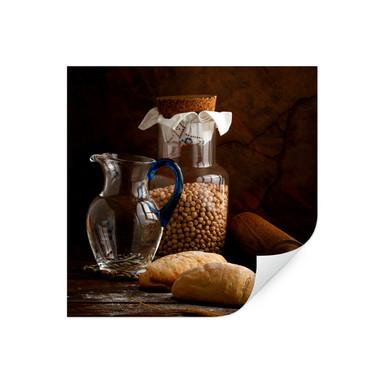 Wallprint Laercio - Italian Breads - quadratisch