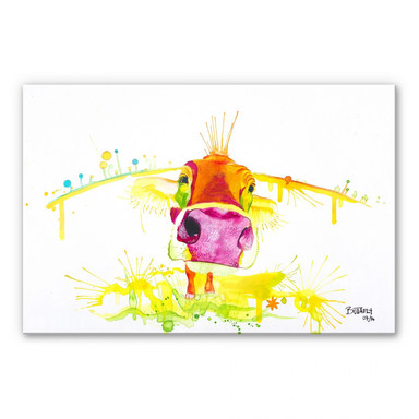 Acrylglasbild Buttafly - Crazy Calf