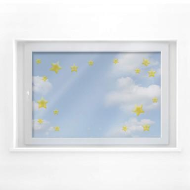 Fensterbild Stars