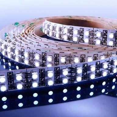 Flexibler LED Stripe IP 20. 12V, LED Typ 720x SMD 3528. 19.2W/m, 57.6W/Stripe, 3m Rolle, 6000K-6500K