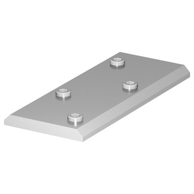 H-Profil Verbinder in Grau
