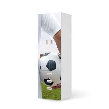 Klebefolie IKEA Stuva / Fritids - 3 Schubladen und 2 grosse Türen - Footballmania- Bild 1