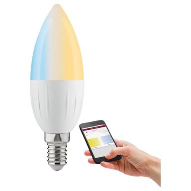 Paulmann Home Zigbee LED Kerze Candela 4.5W E14 Tunable White dimmbar 350lm