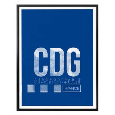 Poster 08Left - CDG Flughafen Paris
