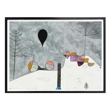 Poster Klee - Winterbild