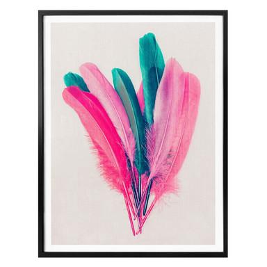 Poster Kubistika - Feder Bouquet