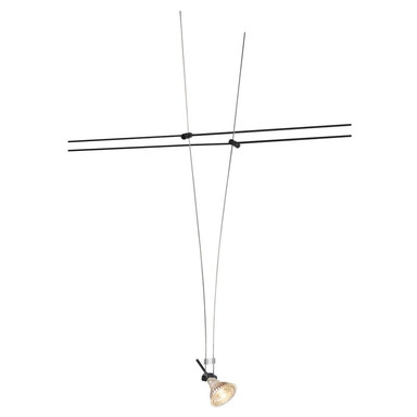 Tenseo Seilsystem, Seilleuchte, QR-C51. schwarz