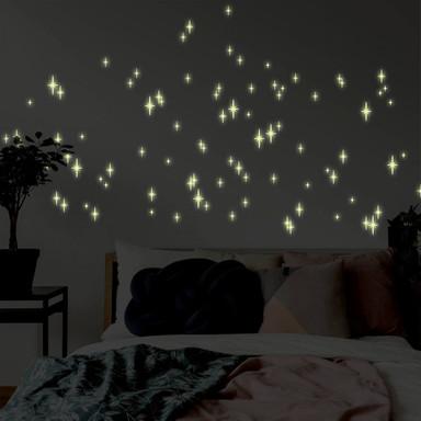 Leuchtsticker Romantischer Sternenhimmel